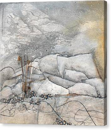 Embrace The White Canvas Print by Laura  Lein-Svencner