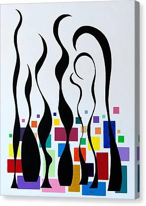 Embracing Canvas Print by Thomas Gronowski