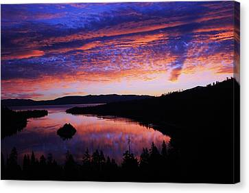 Canvas Print featuring the photograph Emerald Bay Awakens by Sean Sarsfield