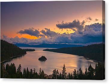 Emerald Bay Before Sunrise Canvas Print by Marc Crumpler