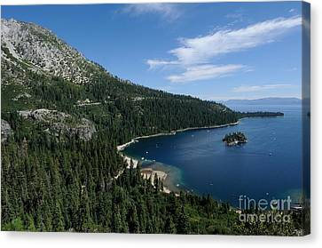 Emerald Bay Lake Tahoe California Usa Canvas Print by John Kelly