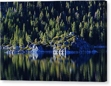 Canvas Print featuring the photograph Emerald Bay Teahouse by Sean Sarsfield