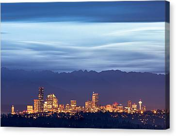Wa Canvas Print - Emerald City by Thorsten Scheuermann