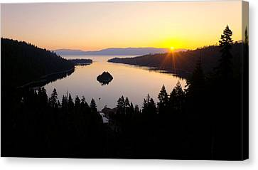 Sunrise Canvas Print - Emerald Dawn by Chad Dutson
