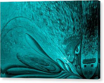 Emerald Expectations Canvas Print by Genio GgXpress