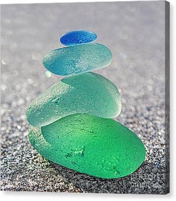 Emerald Light Canvas Print by Barbara McMahon