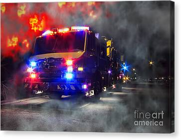 Emergency Canvas Print by Olivier Le Queinec