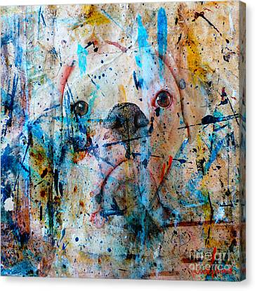 Emerging Canvas Print by Judy Wood