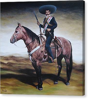 Emiliano Zapata 6x6 Ft Canvas Print