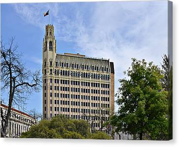 Emily Morgan Hotel San Antonio Canvas Print by Christine Till
