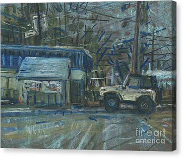 Emissions Testing Canvas Print by Donald Maier