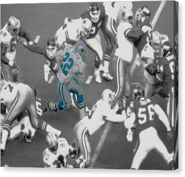 Emmitt Smith Canvas Print by Brian Reaves