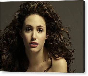 Emmy Rossum Canvas Print by Movie Poster Prints
