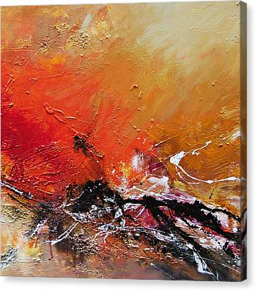 Canvas Print featuring the painting Emotion 2 by Ismeta Gruenwald