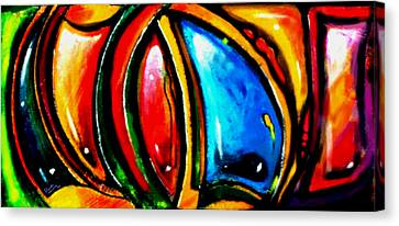 Emotional Touching Canvas Print by Marcello Cicchini