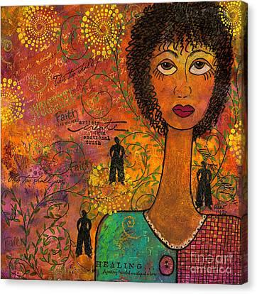Emotional Truth Canvas Print by Angela L Walker
