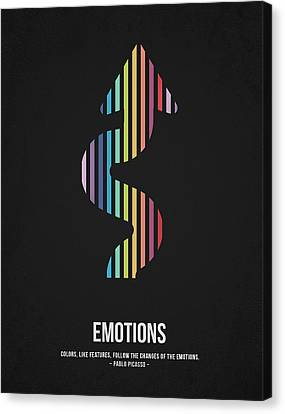 Emotions Canvas Print by Aged Pixel