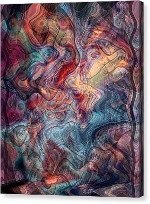 Empathic Psychic Canvas Print by Linda Sannuti