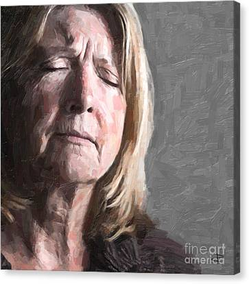 Empathy Canvas Print by Paul Davenport