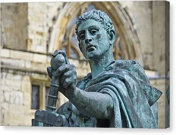 Emperor Constantine Canvas Print by Ross G Strachan