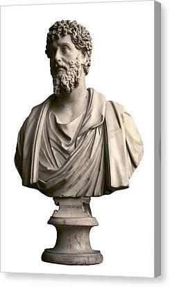 Emperor Lucius Septimius Severus. Ca Canvas Print