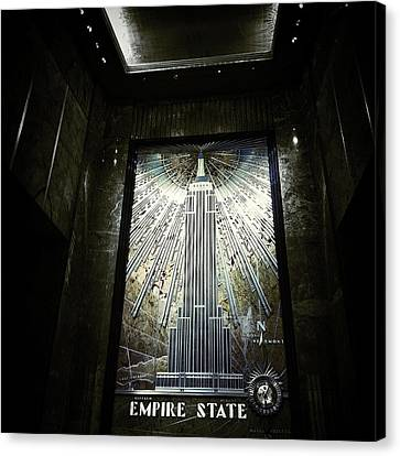 Navema Canvas Print - Empire Art Deco by Natasha Marco