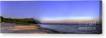 Empire Beach At Sunrise Canvas Print by Twenty Two North Photography