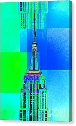 Empire State Building 5 Canvas Print