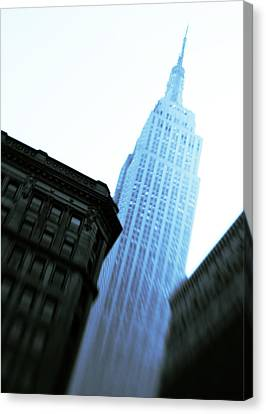 Empire State Building Canvas Print by Dave Bowman