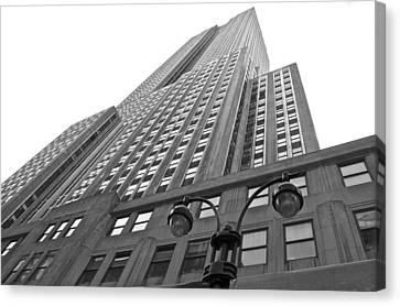 Empire State Building Canvas Print by Galexa Ch