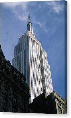 Empire State Building Canvas Print by Jon Neidert