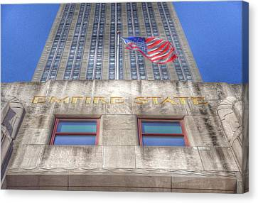 Empire State Building Canvas Print by Marianna Mills