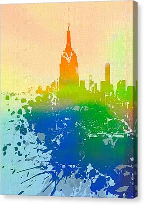 Empire State  Canvas Print by Dan Sproul