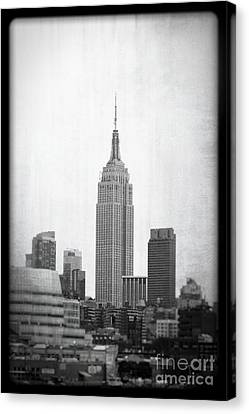 Canvas Print featuring the photograph Empire State by Paul Cammarata
