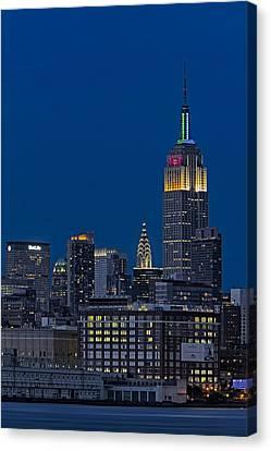 Empire State Canvas Print by Susan Candelario