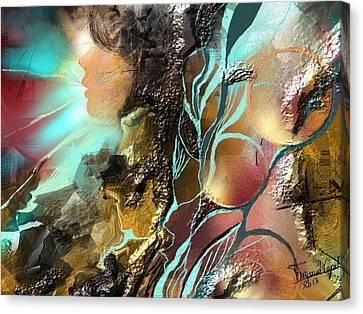 Emprise Canvas Print by Francoise Dugourd-Caput