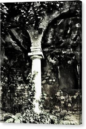 Emptiness Canvas Print by Marianna Mills