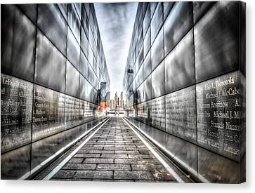 Empty Sky Memorial Canvas Print
