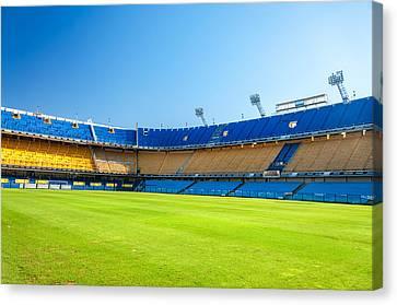 Empty Stadium Canvas Print by Jess Kraft