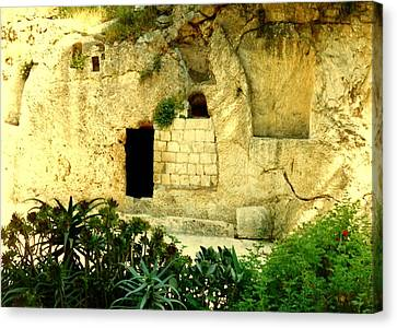 Empty Tomb Of Jesus Canvas Print