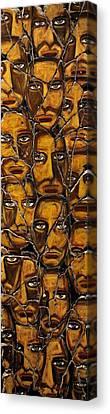 Empyreal Souls No. 5 - Study No. 1 Canvas Print by Steve Bogdanoff