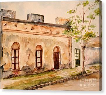 En Calle Belen Canvas Print