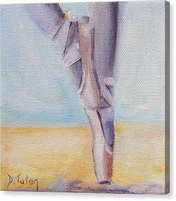En Pointe Canvas Print by Donna Tuten