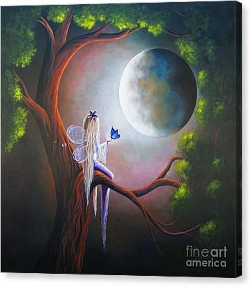 Original Fairy Artwork By Shawna Erback Canvas Print