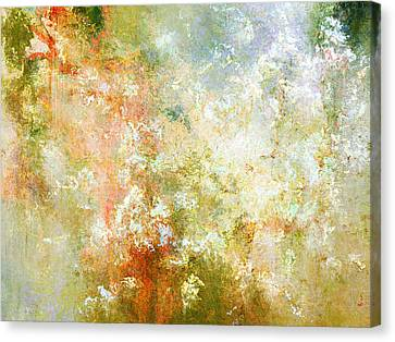 Enchanted Blossoms - Abstract Art Canvas Print by Jaison Cianelli