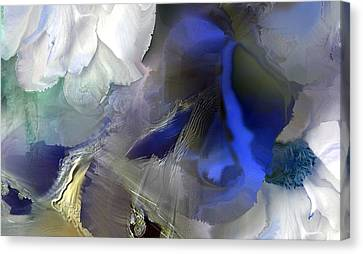Enchanted Blues Canvas Print