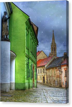 Enchanted. Bratislava Canvas Print by Juli Scalzi