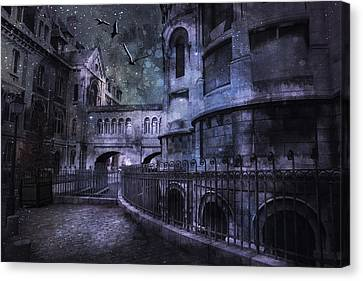 Enchanted Castle Canvas Print
