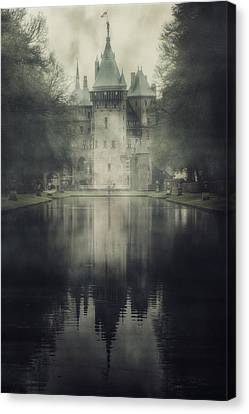 Enchanted Castle Canvas Print by Joana Kruse