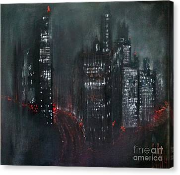 Enchanted City Canvas Print